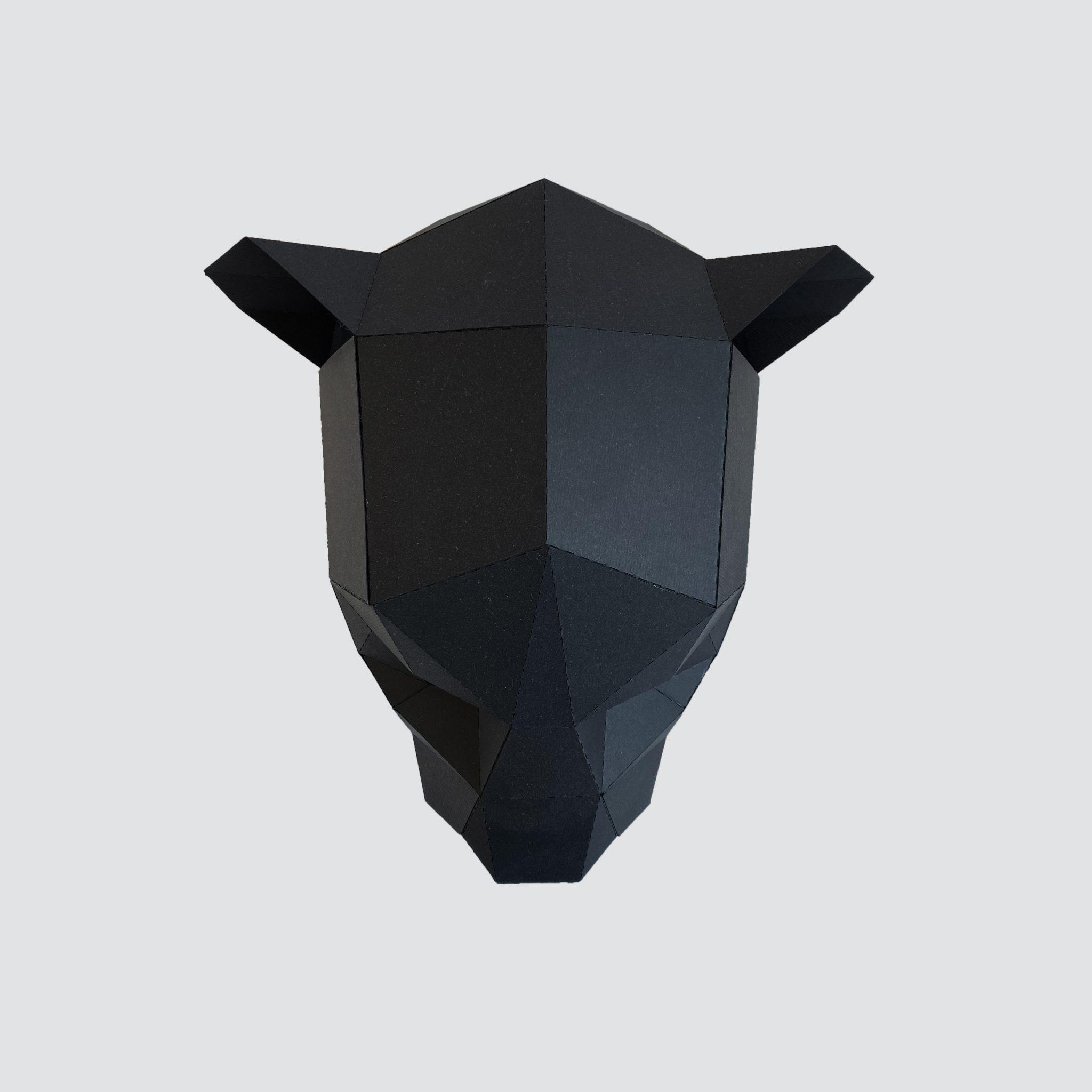 máscara corte láser cartulina 2