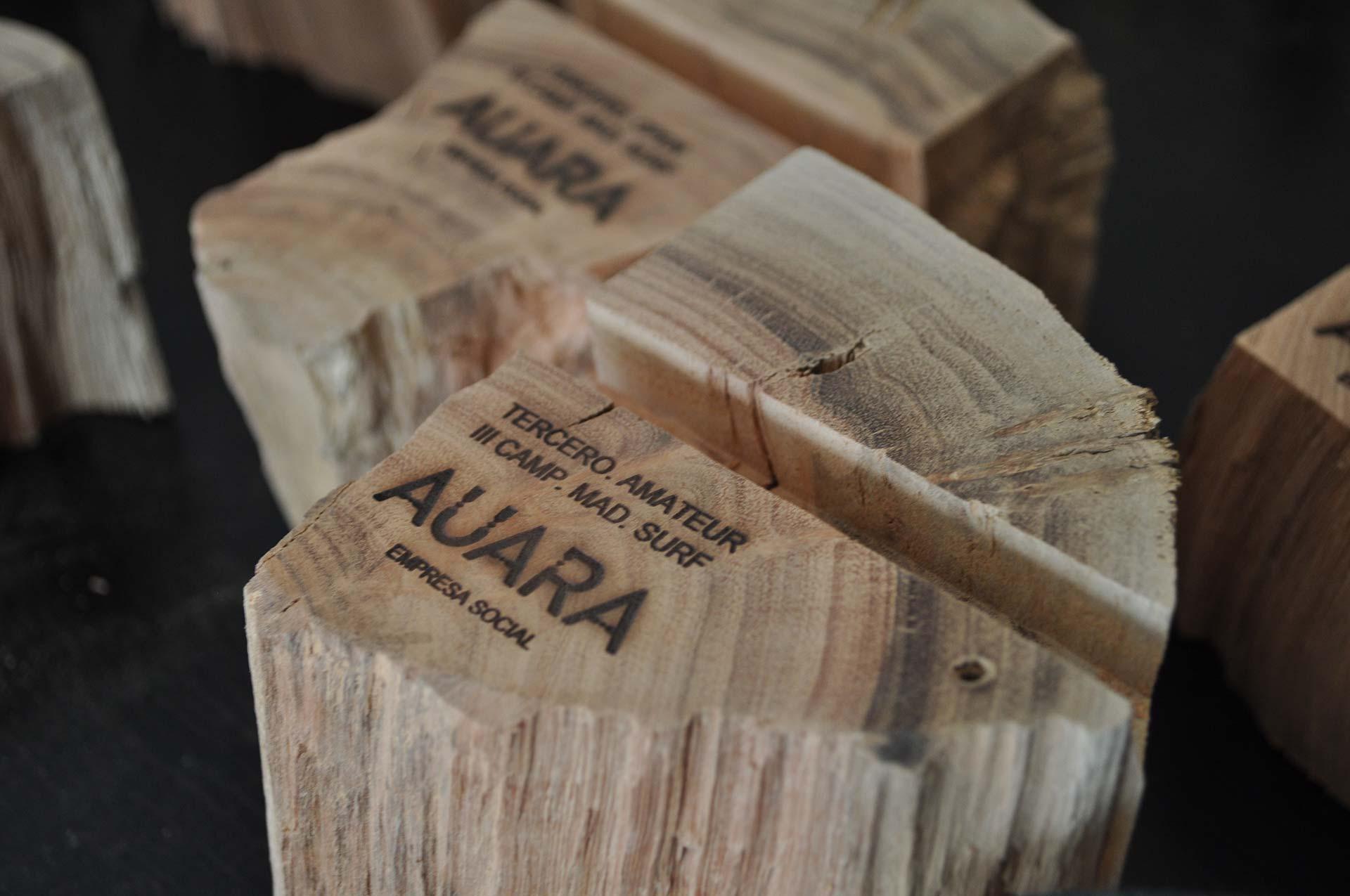 Diseño producto Trofeo Auara